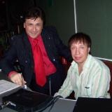 Михаил Михайлов и Сергей Дроздов на концерте