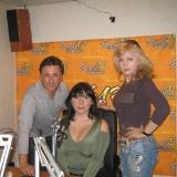 Михаил Михайлов с Джульеттой и Светланой Разиной