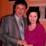 Михаил Михайлов на дне рождении у Ирины Шведовой