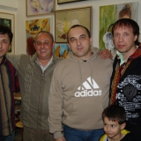 Михаил Михайлов В мастерской у Владимира Азбеля
