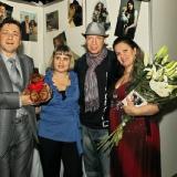 Михаил Михайлов на выствке кукол НА ТИШИНКЕ 7.12.2010
