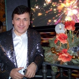 Михаил Михайлов - На новогодней вечеринке канала НТВ+
