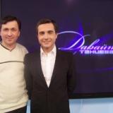 Михаил Михайлов - Вместе с спортивным комментатором Василием Соловьевым канала НТВ+