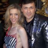 С Людой Соколовой-певицей,партнершей проекта