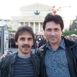 вместе с Володей Боровиковым