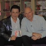 С Геннадием Петровичем Малаховым на сьемках его передачи. 14 июня 2012