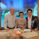 Веселая троица на сьемке телепередачи Геннадия Малахова... Скоро эфир, следите за рекламой!!