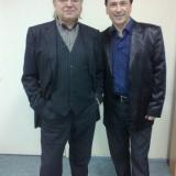 с Юрием Маликовым...легендой нашей эстрады