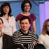 Участники телепроекта ДАВАЙТЕ ТАЦЕВАТЬ в Останкино