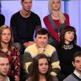 Участники телепроекта ДАВАЙТЕ ТАНЦЕВАТЬ в Останкино