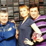 Михаил Михайлов, АнгелиЯ - прямой эфир в студии радио ШАНСОН (Киев)