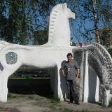 Белогривые лошадки... г.Орел